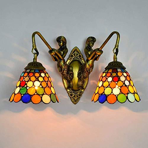 Semaphoro Moderne Wandlamp Eenvoud Tiffany Wandlamp Tiffany Style Exquisite Bella Structuur Verzacht Glas Diffuser