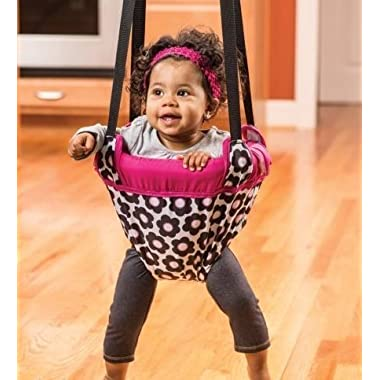 NEW Evenflo Johnny Jump Up Marianna Door Doorway Baby Jumper Jump Up Exerciser