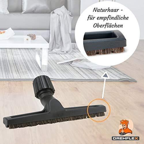 DREHFLEX - Cepillo universal para pisos de parquet – Cepillo para ...