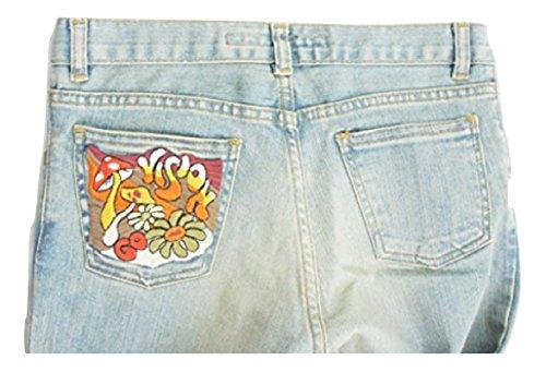 Miss Sixty da Donna Svasato Anticata Killah Luce Blu Jeans