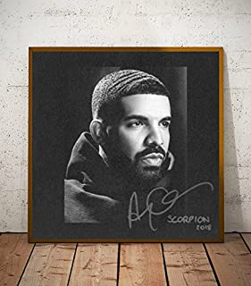 Drake Scorpion Album Limited Poster Artwork - Professional Wall Art Merchandise (More (12x12)