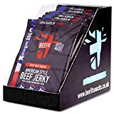 BEEFIT Snacks American Style Jerky - Hohes Protein Jerky -10 x 30g