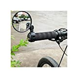 SIWJ Mircycle Mirror Universal Ajustable Bicicleta Retrovisor Handlebar Manillar Convexo Espejo Ciclismo Ciclismo Vista Posterior Bicicleta Ciclismo Accesorios