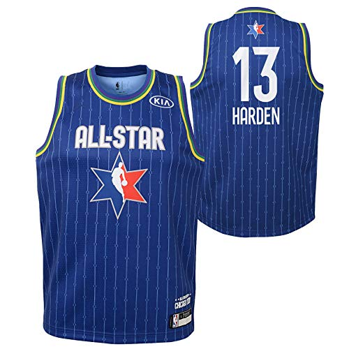 Youth 2020 NBA All-Star Game James Harden Blue Swingman Jersey Youth Sizes (Youth Large (14/16))