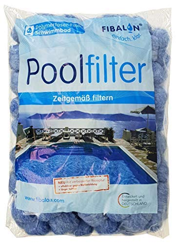 Fibalon Pool 350g Beutel - statt Filtersand oder Filterglas für Poolfilter + Filteranlagen