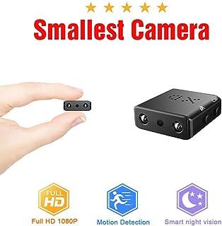 1080P HD Mini Videocamera Sport Mini DV Videoregistratore Spia Telecamere con visione notturna e Motion Detection Telecamera di sicurezza
