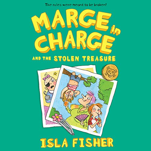Marge in Charge and the Stolen Treasure audiobook cover art