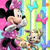 Minnie Mouse Beverage Napkins 16ct by Disney