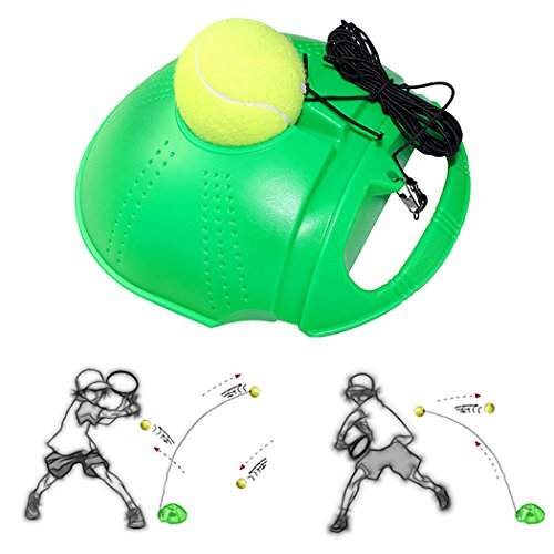 Fansport Tennistraining Werkzeug Kreative Heavy Duty Selbststudium ÜBung Tennisball Rebound Ball