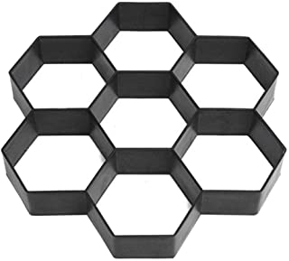 FOONEE Molde De Bricolaje De Piedra para Bricolaje, Moldes De Piedra De Escalonamiento De Plástico