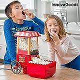 InnovaGoods IG114772 - Macchina per popcorn, 1200 W, colore: Rosso...