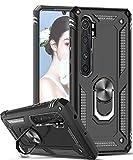 LeYi Coque pour Xiaomi Mi Note 10/Mi Note 10 Lite/Mi Note 10 Pro avec Anneau Support, Militaire...