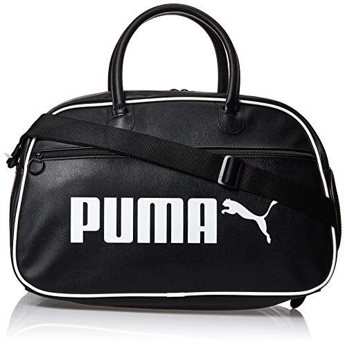 PUMA Campus Grip Bag Retro Bolsa Deporte, Adultos Unisex, Black, OSFA