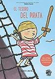 El Tesoro del Pirata: En letra MAYÚSCULA y de imprenta: libros para niños de 5 y 6 años (Aprender a leer en letra MAYÚSCULA e imprenta - en español) Spanish children book (Colección Aprender a Leer)