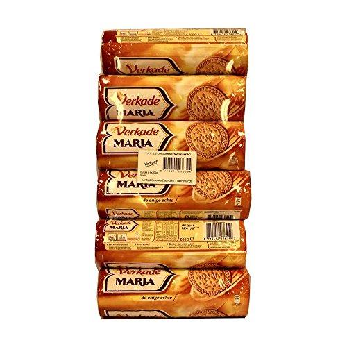 Verkade Maria Biscuits 6 x 200g Packung