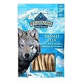 Blue Buffalo Wilderness Denali Stix High Protein Grain Free Soft-Moist Dog Treats, with Wild Salmon, Venison, & Halibut 6-oz bag