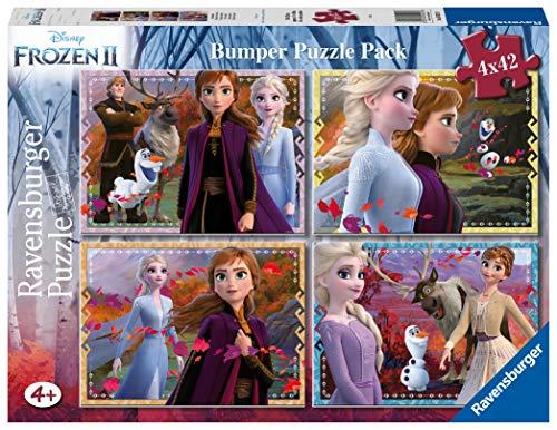 Ravensburger 2 Disney Frozen Puzzle 4x42 Bumper Pack, 05023