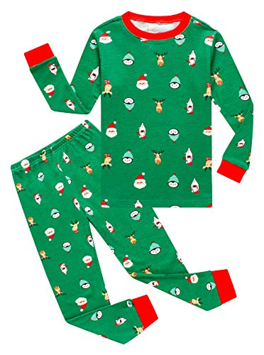 Image of All Over Christmas Print Pajamas for Boys and Toddlers