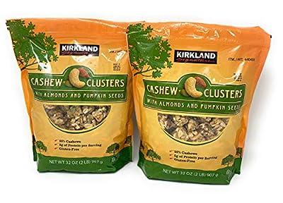 Kirkland Signature Cashew Cluster with Almonds and Pumpkin seeds