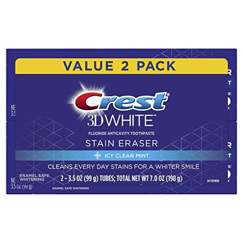 Crest 3D White Stain Eraser Toothpaste 2 Count Now $3.46 (Retail $11.99)