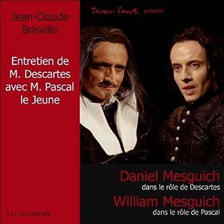 Couverture de L'entretien de M. Descartes avec M. Pascal le jeune