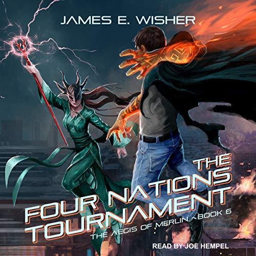 The Four Nations Tournament audiobook cover art