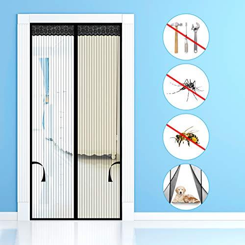 Emooqi Contrapuertas con mosquitera