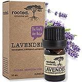 rooted.® - 10ml Lavendelöl -100% naturreines ätherisches Lavendelöl (Lavandula Angustifolia) -...