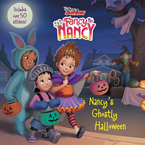 Disney Junior Fancy Nancy: Nancy's Ghostly Halloween: Includes Over 50 Stickers!