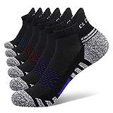 Closemate 6 Paar Sneaker Socken Herren Damen Gepolsterte Laufsocken Baumwolle Atmungsaktiv...