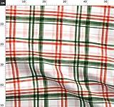 Schottenkaro, Grün, Rot, Rosa, Mädchen, Weihnachten