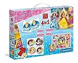 Clementoni 13256 Preescolar Juego Educativo - Juegos educativos (Multicolor, Preescolar, 3 año(s), Princesa, Italia, 370 mm)