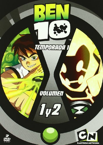 Ben 10 Temporada 1 Volumen 1 y2 [DVD]