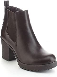 REFRESH CLUB-01 Women's Slip On Chunky Heel Ankle