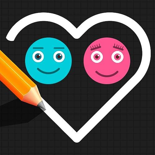 Balls Game : Puzzle Star Love Draw Line
