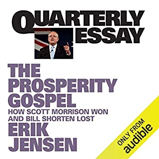 Quarterly Essay 74 audiobook cover art