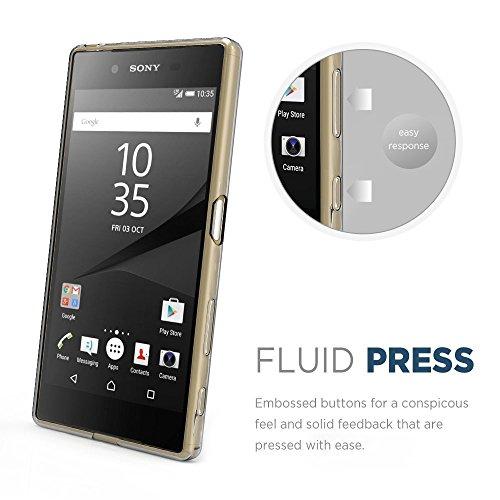 『Sony Xperia Z5 Premium ケース, Simpeak TPUクリア透明ケース保護カバー 5.5インチ専用 Z5 Premium ケース TPU』の4枚目の画像