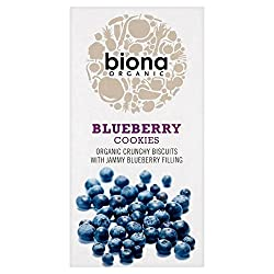 Biona Organic Blueberry Cookies 175g - Pack of 2 Quantity: 2