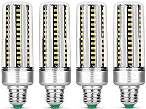 KLED 4Pack LED Corn Light Bulb, 25W, E27 Socket, 2700K Warm White, 180W Equivalent,2000Lumen,LED Light Bulb for Home, Ware...