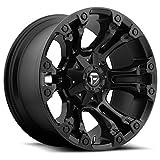 Fuel D560 Vapor 20x9 5x139.7/5x150 +20mm Matte Black Wheel Rim
