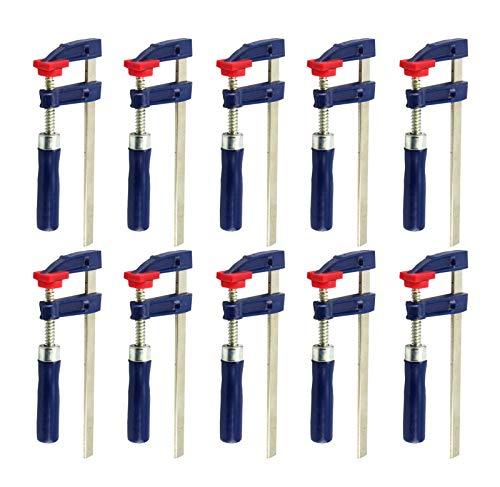 10x Schraubzwingen 150x50mm Klemmzwingen Leimzwingen Spannmittel 2149670