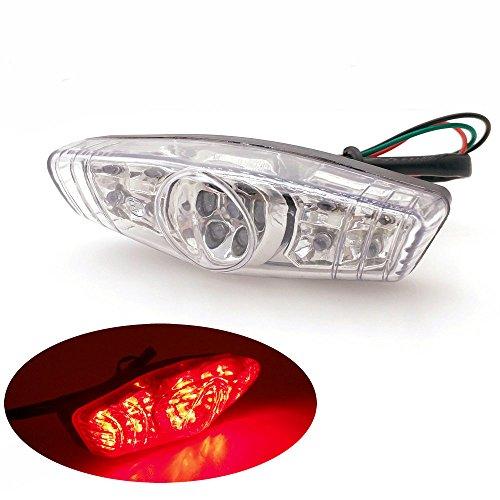 Heinmo Frein Feu arrière de voiture les feux arrière anti-collision Frein lumière LED Conduite Moto avertissement d'éclairage