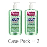 PURELL Advanced Hand Sanitizer Soothing Gel for the workplace, Fresh...