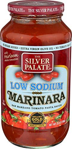 Silver Palate, Marinara Sauce Low Salt, 25 Ounce