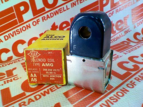 ALCO CONTROLS AMG208/240 Solenoid Valve, 12 WATT, 208-240 VAC 50/60 HZ, Discontinued by Manufacturer