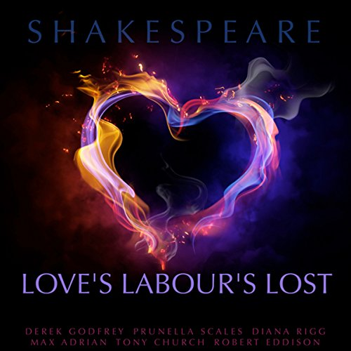 Love's Labour's Lost audiobook cover art