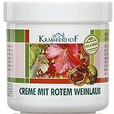 Kräuterhof 10er Vorteilspack Creme mit Rotem Weinlaub, 10 Dosen a 100ml