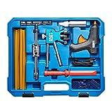 KRAFTPLUS K.872-5010 - Juego de herramientas profesionales para desabollar sin espátula ni barniz, martillo deslizante, herramienta de abolladuras para daños por granizo