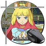 Ni no Kuni II Revenant Kingdom B Rund Mauspad Round Mousepad PC