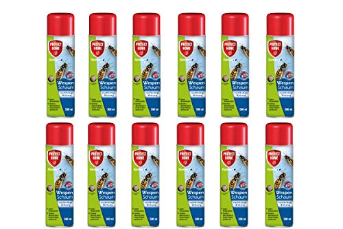 12 x 500 ml Bayer feuilles Anex Mousse guêpes guepes